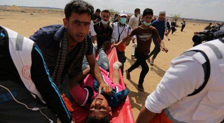 109 Protesters Injured by Israeli Gunfire at Gaza Border