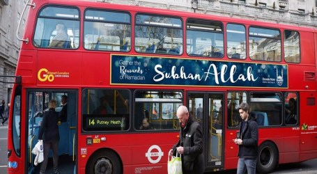 """Subhan Allah"" Posters on British Buses to Potray Islam in Positive Light"