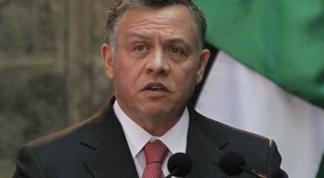 Jordan: Middle East Will Never Enjoy Peace Unless Palestinian Issue Solved