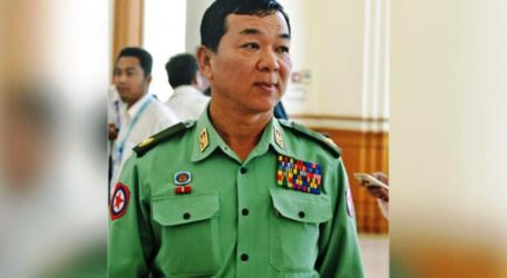 Myanmar Fires Key General Sanctioned by EU