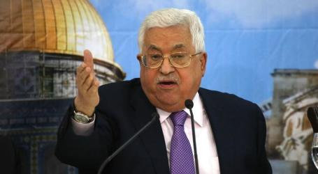 Palestinian President Vows to Appeal Israel's Law at UN