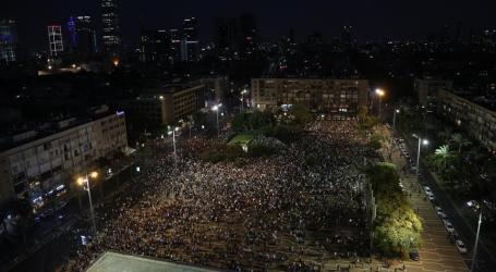Thousands Protest 'Jewish State' Law in Tel Aviv