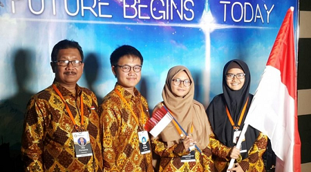 Indonesia Wins Bronze Medal at the International Economy Olympics