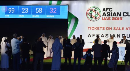 Launch of Countdown Clock with 100-Days to Go to AFC Asian Cup