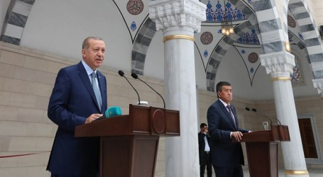 Turkish Pesident Opens Mosque in Kyrgyzstan