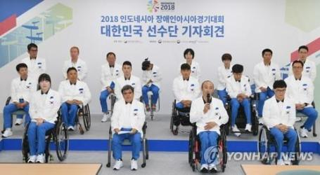 South Korea Launches Squad for Asian Para Games