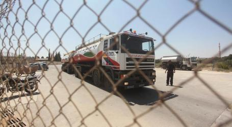 First Shipment of Qataer Fuel Enters Gaza