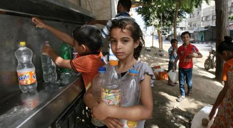 90% of Gaza Residents Have no Access to Safe Sources of Drinking Water