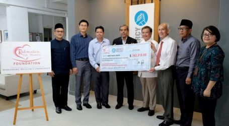 Singapore's Muslim Community Raises $360,000 for Sulawesi Earthquake Rrelief Efforts