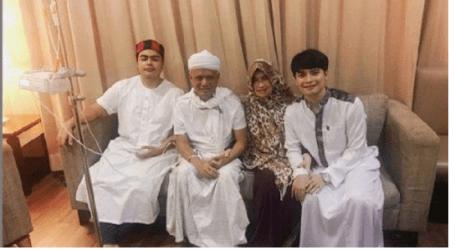 Ustaz Arifin Ilham Takes Medical Treatment to Penang
