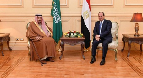 Egyptian President Receives King Salman in Sharm El-Sheikh