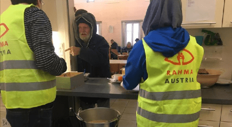 Austrian Muslim Provides Food for 100 Homeless A Day
