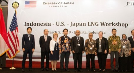 Indonesia-US-Japan Hold LNG Workshop in Jakarta
