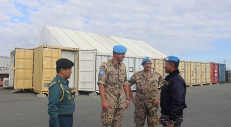 Arrive in Cyprus, TNI Task Force Welcomed by German Navy