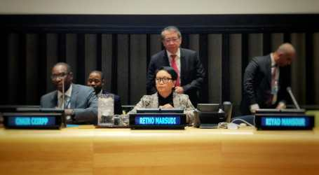 Indonesian FM at UN Forum: Palestine is Indonesia's Priority