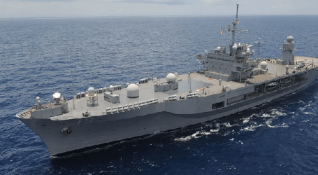 7th Fleet Flagship USS Blue Ridge Visited in Jakarta, Indonesia