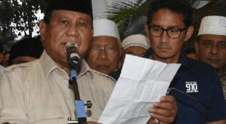 "Prabowo Responds to May 22 Action, ""Avoid Violence"""