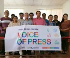 Journalists in Nepal Discuss Media Responsibility for Global Peacebuilding