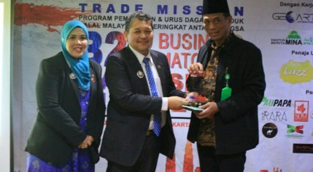 Indonesia, Malaysia Hold B2B Meeting in Jakarta