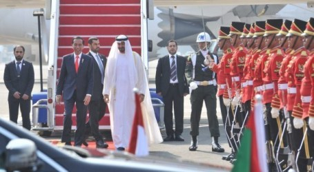 President Jokowi Welcomes Crown Prince of Abu Dhabi at Soekarno Hatta Airport