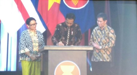 President Jokowi Inaugurates New Building For ASEAN Secretariat in Jakarta