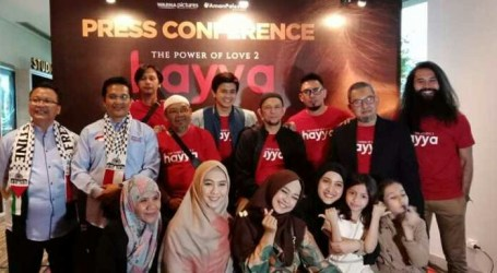 "Film ""Hayya: The Power of Love 2"" Takes Place in Palestine and Indonesia"
