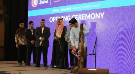 Jakarta Governor Anies Baswedan inaugurated Muslim Lifestyle Festival