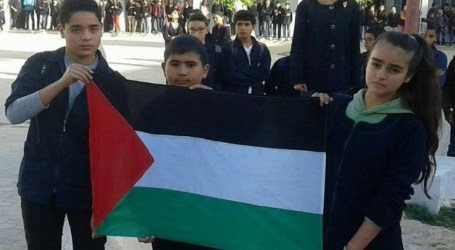 Tunisian Students Express Solidarity for Palestine