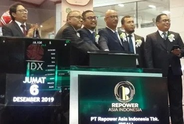 PT Repower Asia's Shares Goes far to reach 70 percent