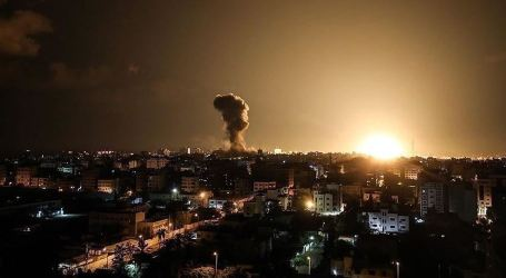 Israel Army Attack Sites in North Gaza