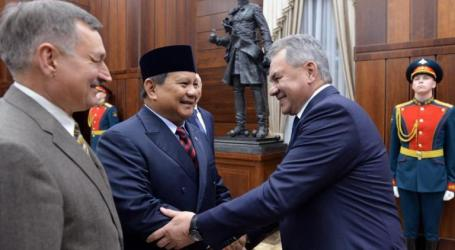 Prabowo Meets Russian Defense Minister