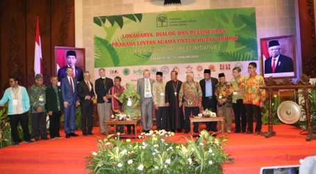 Collaborated Religions Support Indonesia's Tropical Forest Preservation