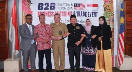 B2B Halal Products of Indonesia-Malaysia Held in Bandung