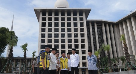 Renovation of Istiqlal Mosque Spent a Budget of Rp 475 Billion