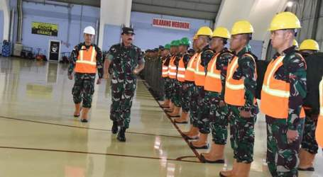 Indonesia Send 44 Soldiers Assist in Handling Forest Fire to Australia