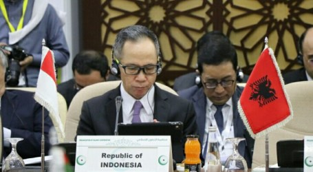 Indonesia Stresses Solidarity for Palestine at the OIC Extraordinary Meeting
