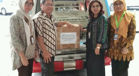 Russia Hands Over Medical Equipments for Indonesian Persahabatan Hospital