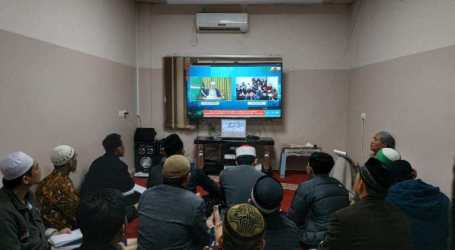 Imaam Yakhsyallah Delivers Virtual Lecture to Indonesian Volunteers in Gaza