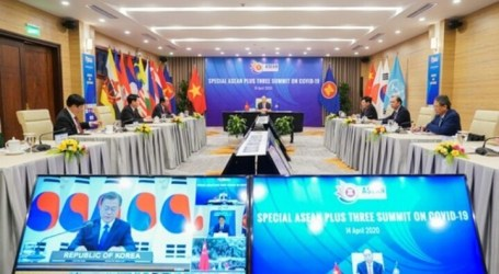 ASEAN Summit Declares Nine Points to Overcome COVID-19