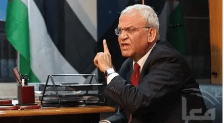 Erekat : Britain, Japan And Norwey Reject Israel Annexation Plan