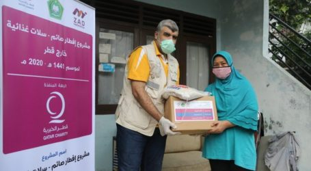 Qatar Charity Indonesia Distribute Food Packages