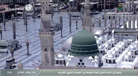Friday Prayer at Prophet's Mosque in Medina