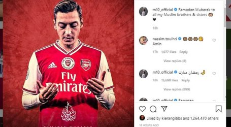 Mesut Ozil Donates £ 80,000 to Fight Covid-19 in Turkey