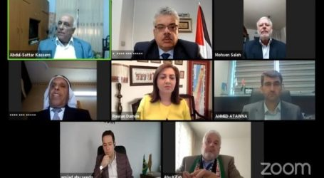 Palestinian People's Conference Abroad: Cancel Israeli Annexation Plan