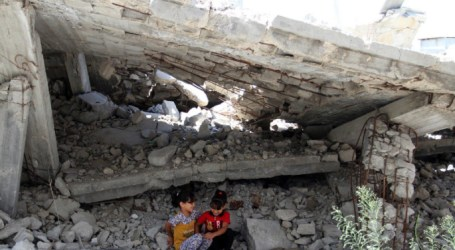 More than 2.500 Housing Units in Gaza Destroyed by Israel in 2014