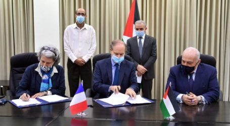 Palestine-France Signs A €10 Million Aid Agreement for Palestine