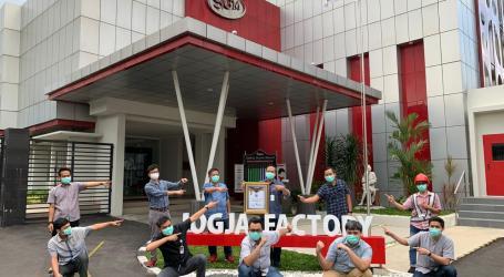 Danone SN Indonesia Factory in Yogya Won Gold Award