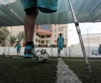 Palestinian Football Players Return to the Field