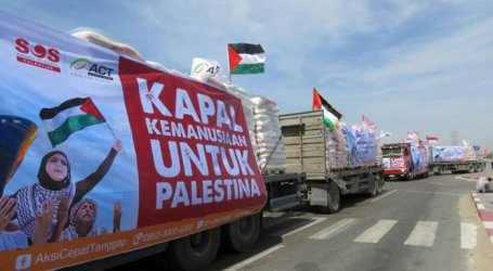 Indonesia Distributes IDR 36.5 Billion of Humanitarian Aid to Palestine