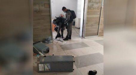 IOF Storm A Hospital in Jerusalem
